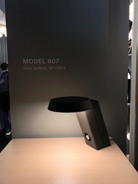 MILANO SALONE 2019 EUROLUCE astepの展示ブース、mod.607