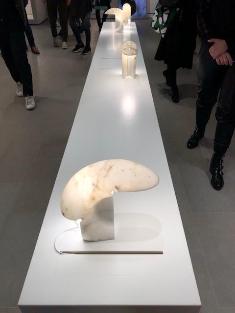 FLOSのBIAGGIO、デザイナーはTobia Scarpa、オール大理石のアイコン照明