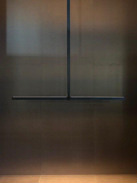 Michael  Anastassiadesの新作展示ブース