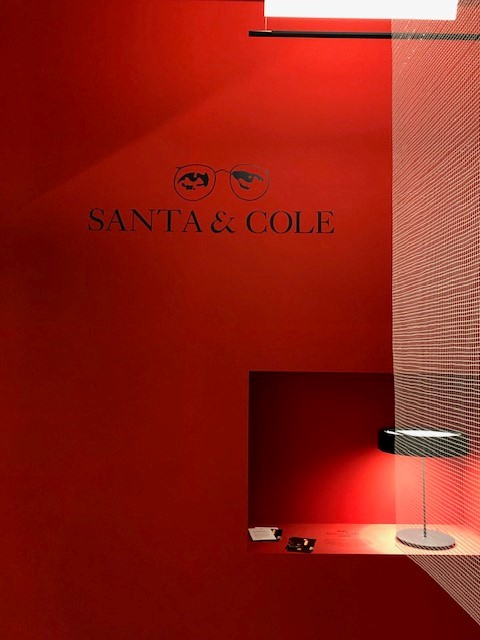 SANTA&COLE BOOTH, Milano Salone 2019, Euroluce 2019