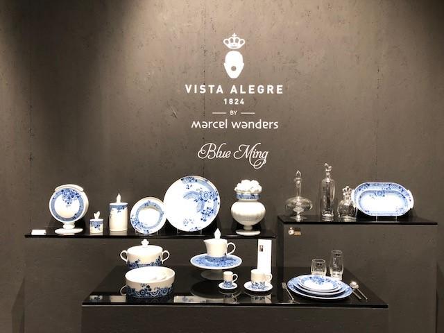 ポルトガルの陶器とクリスタルのメーカーVISTA ALEGRE、マルセルワンダース