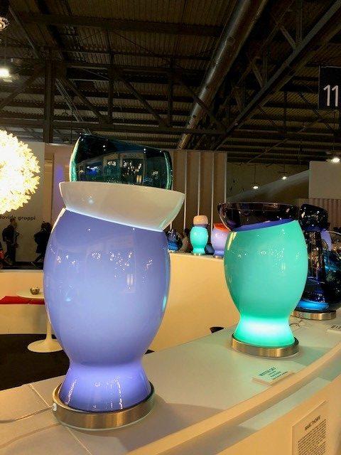 MILANO SALONE 2019 EUROLUCE、世界最高峰のガラスメーカーVENINI、ハニラシッドの新作照明