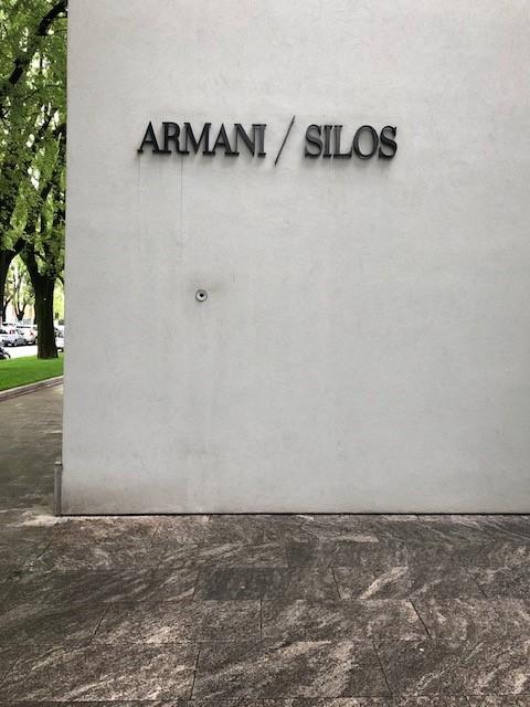 ミラノサローネ2019、FUORI、安藤忠雄が設計したARMANI SILOS