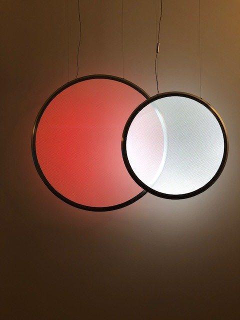 イタリアの大手照明ブランドARTEMIDEの展示ブース
