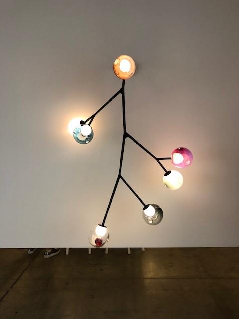 カナダの照明メーカーBOCCIの展示ブース