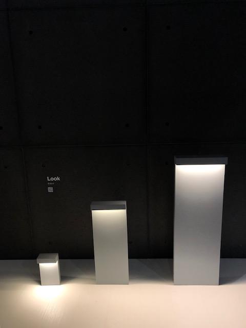 MILANO SALONE 2019 EUROLUCE、アウトドア照明メーカーSIMESの展示ブース