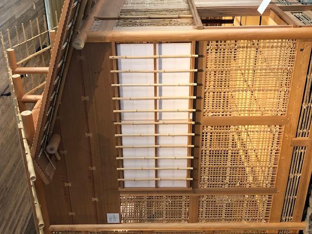 神戸竹中大工道具館内の数寄屋建築の原寸大モデル