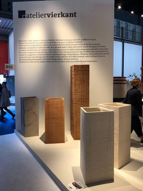 ベルギーのATELIER VIERKANTの展示ブース
