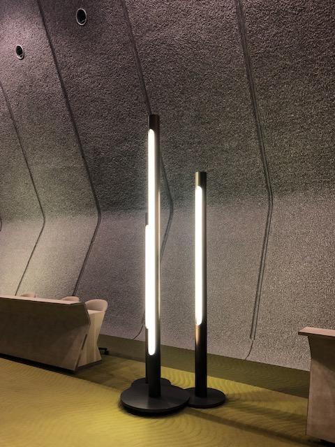 国立京都国際会館、オリジナル照明、フロアランプ、SF