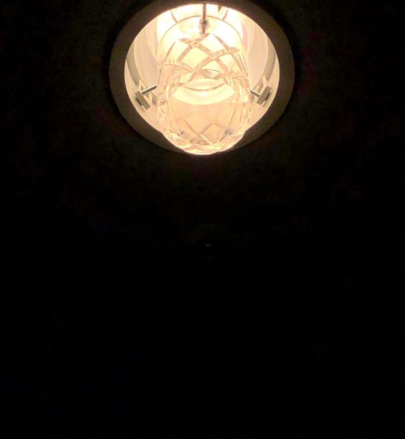 国立京都国際会館、オリジナル照明、切子ガラスダウンライト