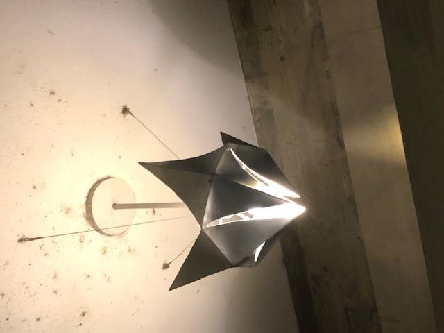 国立京都国際会館、オリジナル照明、鉄鋳物サスペンションランプ