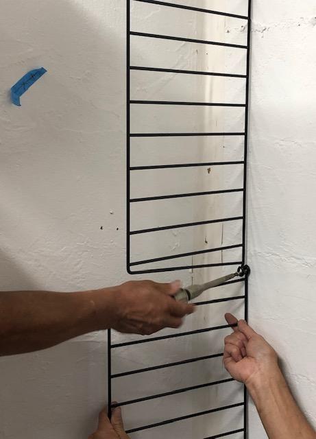 string® systemの取付手順