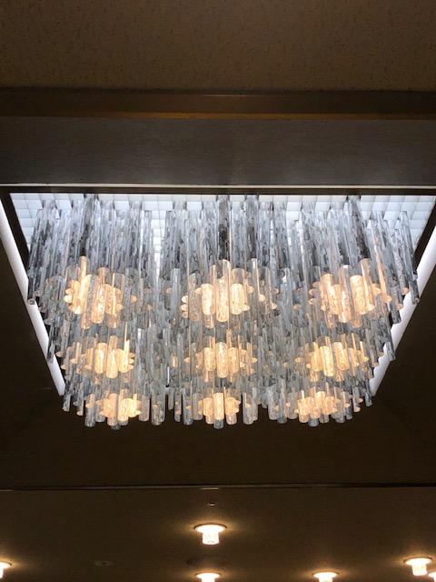 国立京都国際会館、オリジナル照明、蛍光灯
