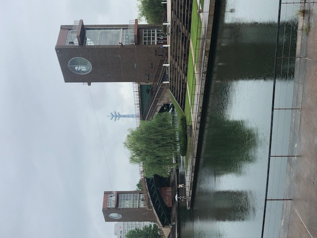 富岩運河環水公園、天門橋
