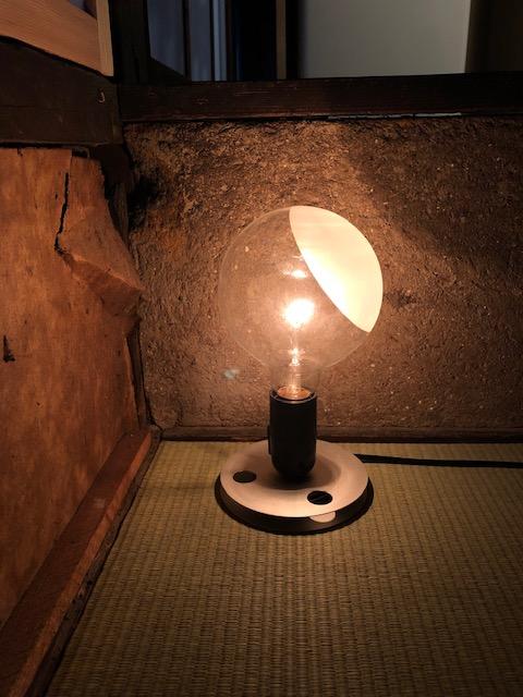ひとともり奈良本店の照明、FLOS
