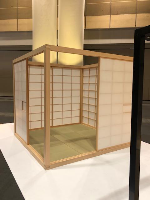 LIVING&DESIGN、喜多俊之さんの茶室