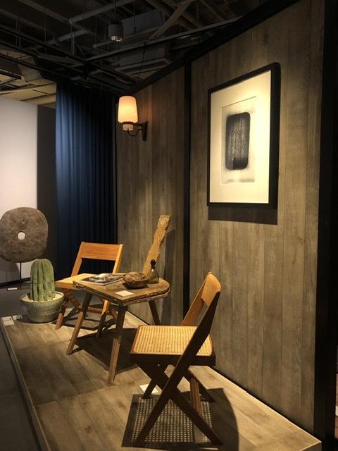 ピエールジャンヌレの家具とアートのある暮らし展