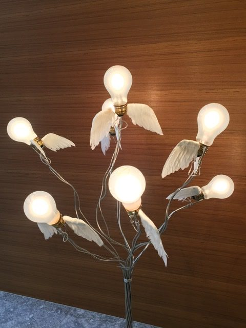 Lucellino NT by Ingo Maurer、BIRDIE tablelamp