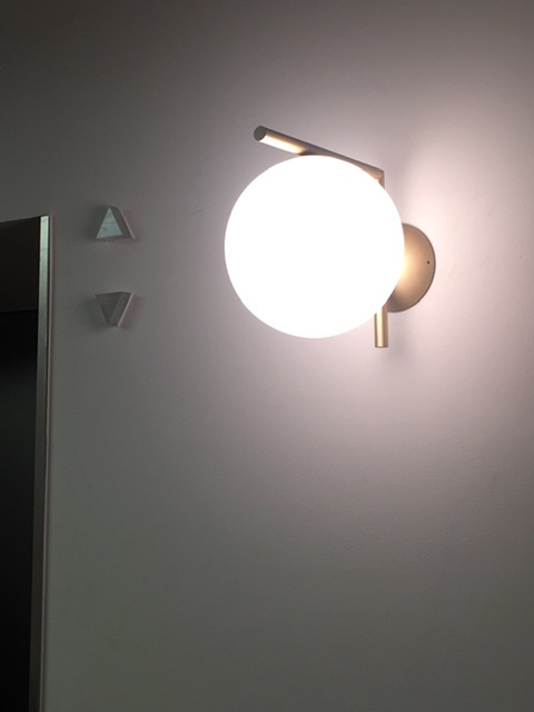 FLOS IC C/W1 GOLD by Michael Anastassiades、COCON烏丸、京都