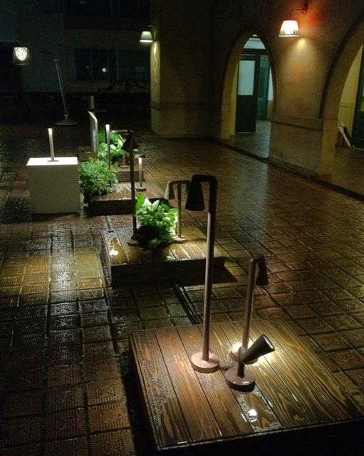 芝川ビルモダンテラス、FLOS NIGHT 2013