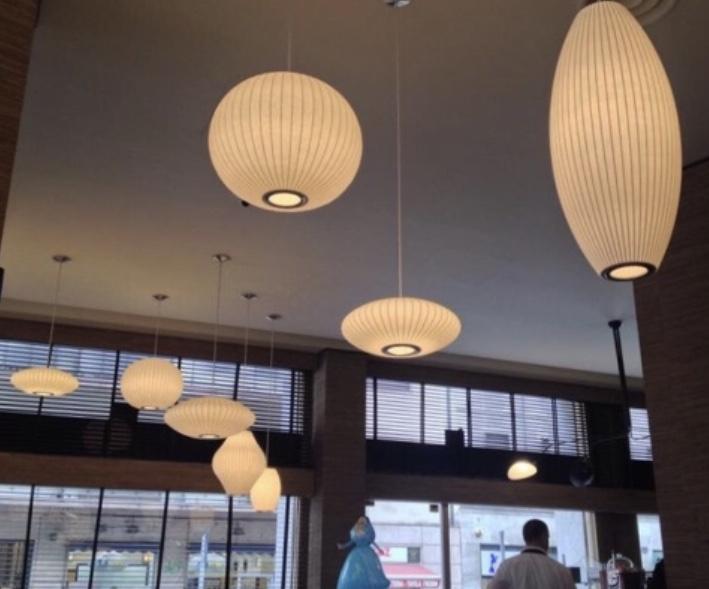 L'Arabesque café、ミッドセンチュリー mid-century、ジョージネルソン george nelson、イタリアミラノ