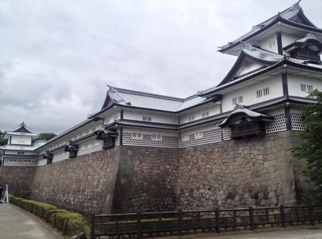 金沢城、石川県、加賀百万石、海鼠壁、アート、美しい城