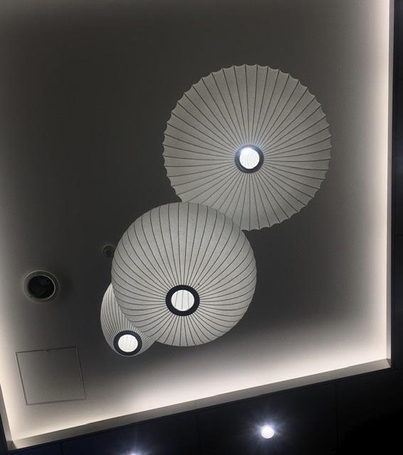 ジョージネルソン George Nelson、バブルランプ Bubble Lamp、ミッドセンチュリー mid-century