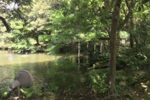 松風閣庭園、石川県金沢市、鈴木大拙館隣、和風庭園