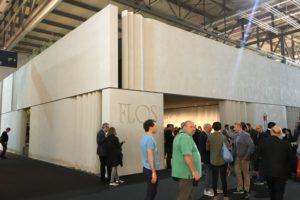 FLOSの展示ブース イタリア ミラノ MILANO SALONE 2017 FIERA会場