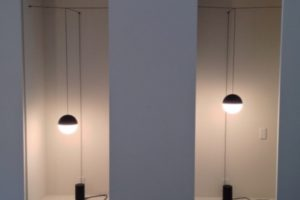 FLOS String Light Michael Anastassiades イタリア 照明 取付方法