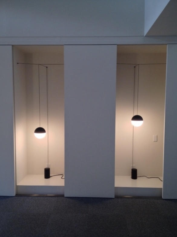 FLOS String Light Michael Anastassiades イタリア 照明 取付方法