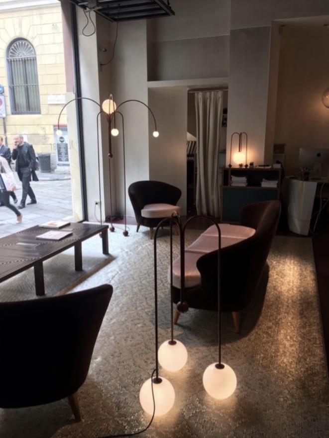 Gallery Nilufar イタリア ミラノ Spiga通り ハイエンド 家具