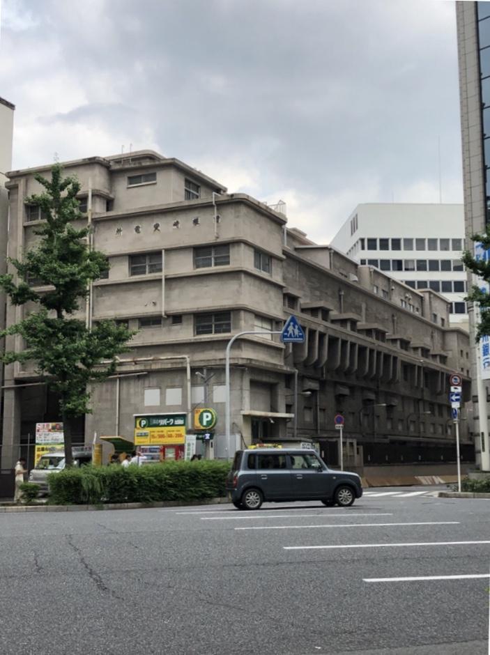 大阪市交通局曽根崎変電所 モダニズム建築 御堂筋沿い