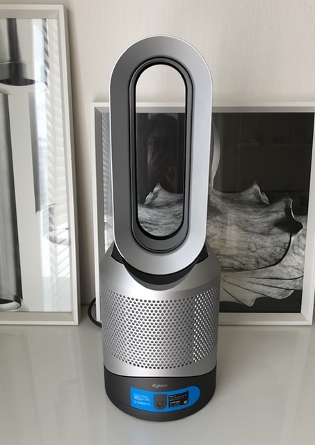 Dyson Pure Hot + Cool Link™ 空気清浄機能付ファンヒーター アイアン/シルバー (HP03 IS)