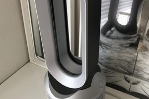 Dyson Pure Hot + Cool Link™ 空気清浄機能付ファンヒーター アイアン/シルバー (HP03 IS)