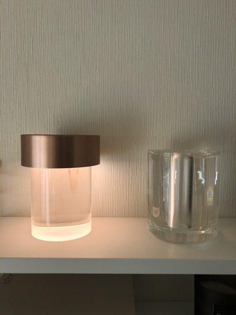 FLOS Last Order Michael Anastassiades crystalglass cordlesslamp