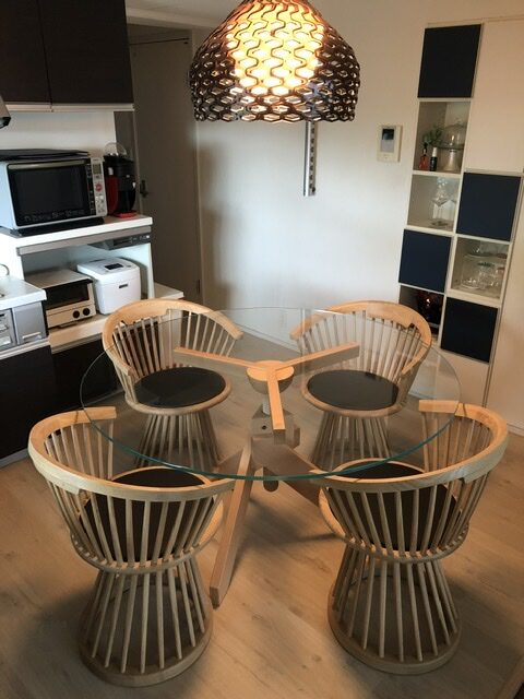 Tom Dixon Fan Dinning Chair Natural Oak